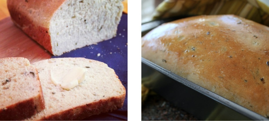 For a treat, nothing beats home made bread...or does it?