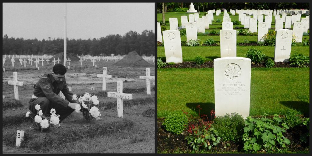 Canadian WWII Cemetery at Bergen Op Zoom, Netherlands - Through our trip to Normandy and the Netherlands our family remembers the sacrifices of those who have laid down their lives for our freedoms. #WWII #JunoBeach #RemembranceDay