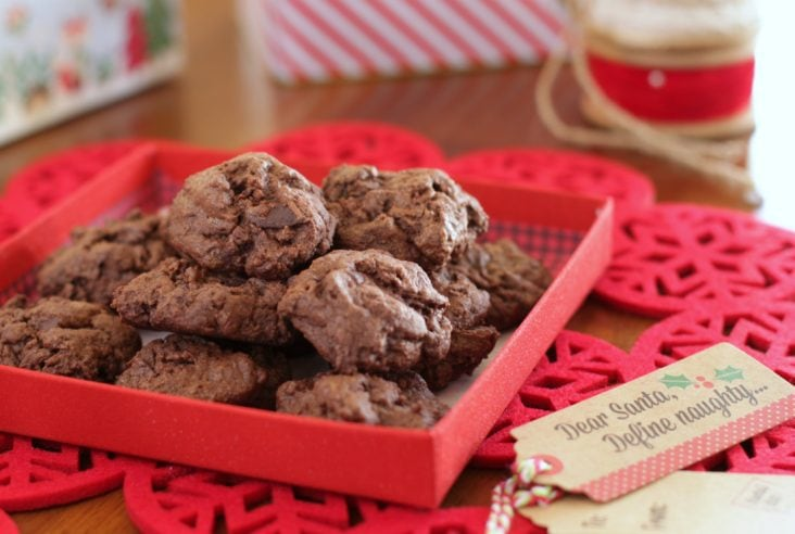 Chocolate and Spice and Everything Nice! Ancho Chili Chocolate Cookies #AnchoChili #Cookies #ChiliChocolate