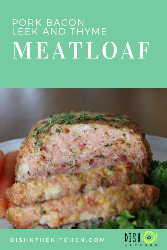 Move over Ketchup, there's a new Meatloaf in town! There's so much flavour in this pork meatloaf you'll make this a regular Monday night dinner. #meatloaf #pork #thyme