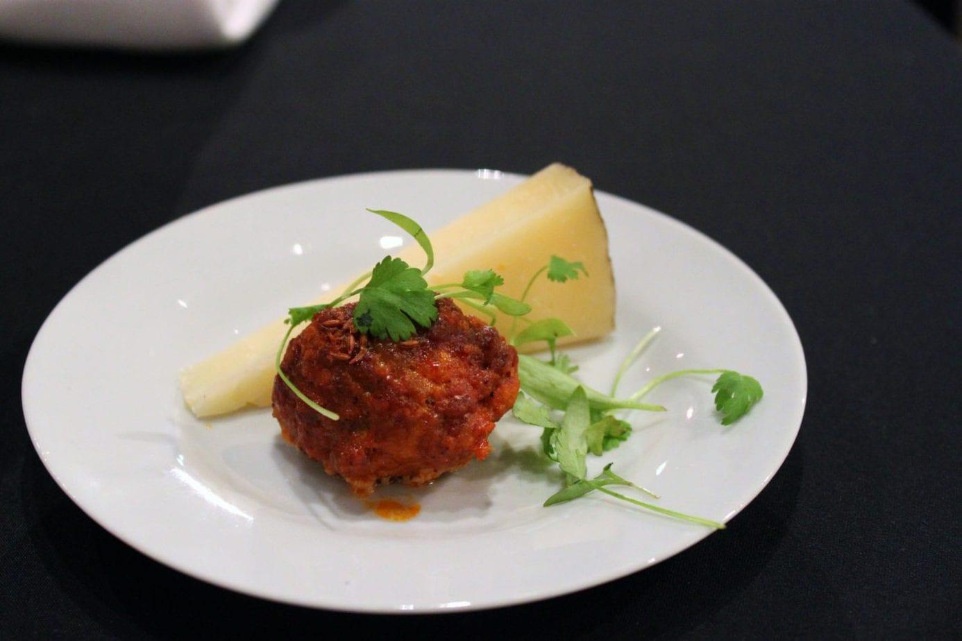 Chorizo Meatball from Top Chef René Rodriguez