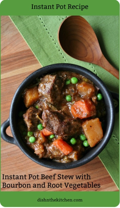This classic warm-you-up Instant Pot Beef Stew is the perfect comfort food for your next Family Dinner Night. #InstantPot #ComfortFood #Dinner #InstaPot #InstantPotBeefStew