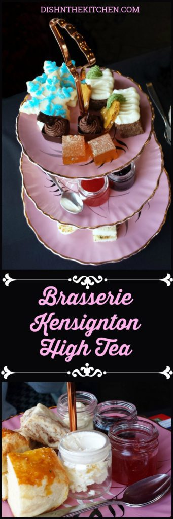 Exceptional High Tea Service at Brasserie Kensington in Calgary, Alberta #HighTea #TeaService #RoyalTea #BrasserieKensington