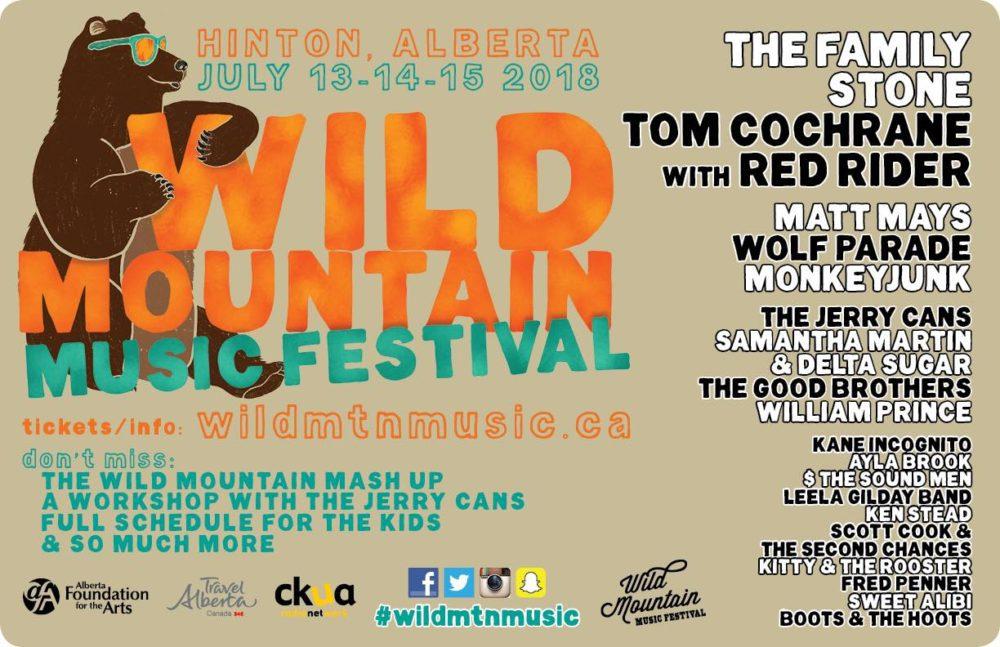 Summer Music Festival in the Heart of the Canadian Rocky Mountains #WildMtnMusicFestival #Music #musicfestival #AlbertaMusic