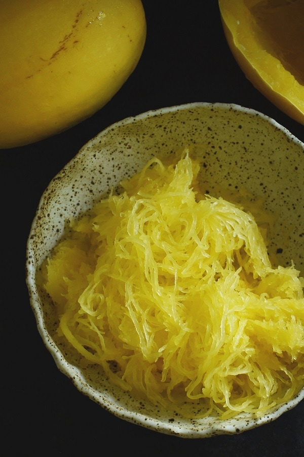 Dish'n' the Kitchen's 25 Beginner Instant Pot Recipes - Spaghetti Squash