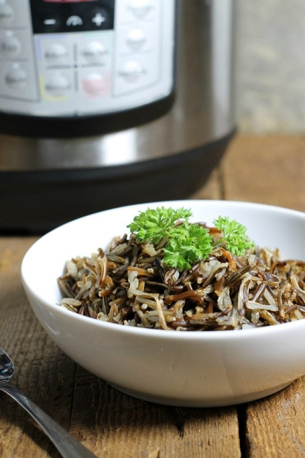 Dish'n' the Kitchen's 25 Beginner Instant Pot Recipes - Wild Rice