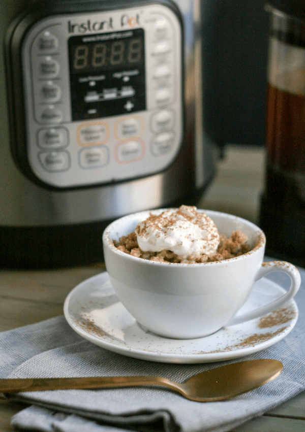 Dish'n' the Kitchen's 25 Beginner Instant Pot Recipes - vanilla latte oats