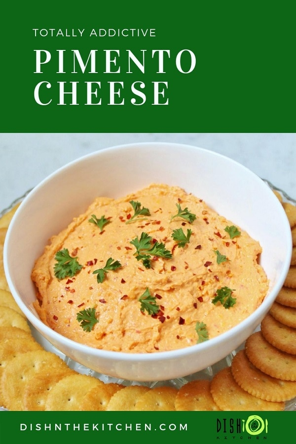 The Ultimate in cheese dips, Pimento Cheese will melt your heart and leave you wanting more. #GameDay #Superbowl #cheesedip #pimentocheese #dips #appetizers